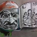 """Mahatma Gandhi-Love for children"" by Thirumalai"