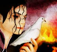 Michael Jackson Painting - Heal the world