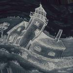 """Haunting Seas Lighthouse"" by ArtsyPoet2"