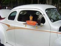 50s Car Hop Food Tray