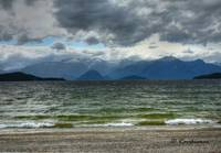 HDR of Frasers Beach, New Zealand