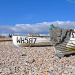 """chesil beach fishing boats"" by markconnell"