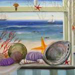 """Seashells in the Window"" by stella"