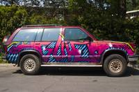 Graffiti Covered SUV - Montreal, Quebec