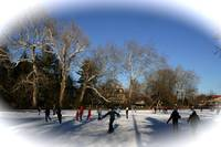 Yardley Pond Ice Skating