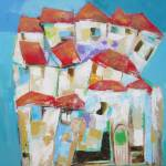 """House on a hill"" by leyla"