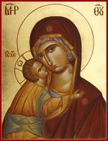 Sweet Kissing Theotokos