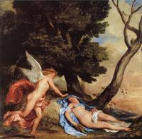 Cupid and Psyche by Sir Anthony Van Dyck