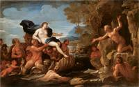 Acis and Galatea by Luca Giordano