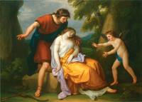 Cephalus with Procris and Cupid