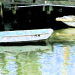 """2 Boats At Rest"" by Debrene"