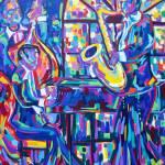 """""""Jammin Jazz"""" by neworleansartist"""