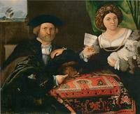 Portrait of a Married Couple by Lorenzo Lotto