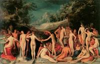 Garden of Love by Karel van Mander I