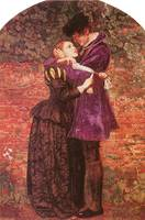 The Huguenot by Sir John Everett Millais