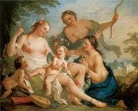 Venus and Cupid by Charles-Joseph Natoire
