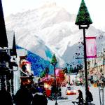 """Christmas in Banff"" by cranberrysky"
