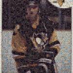 """Mario Rookie card cut Mosaic"" by Hockey"