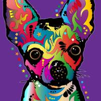 """Chihuahua Art"" by ModernArtPrints"