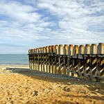 """Ventnor Beach Groyne (24461-RDA)"" by rodjohnson"