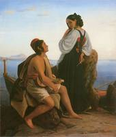 A Girl from Procida by Louis-Leopold Robert