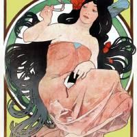 Alphonse Mucha Victorian Art Nouveau Art Prints & Posters by Robert Rooke