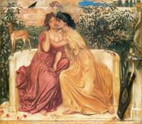 Sappho and Erinna in a Garden at Mitylene