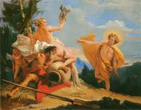 Apollo Pursuing Daphne by Giambattista Tiepolo