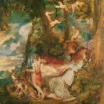 """Venus and Adonis by Joseph Mallord William Turner"" by ArtLoversOnline"