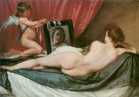 Venus at Her Mirror (The Rokeby Venus)