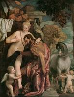 Mars and Venus United by Love by Paolo Veronese