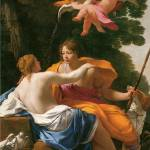 """Venus and Adonis by Simon Vouet"" by ArtLoversOnline"