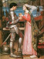 Tristram and Isolde by John William Waterhouse