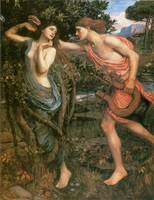 Apollo and Daphne by John William Waterhouse