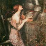 """Lamia by John William Waterhouse"" by ArtLoversOnline"