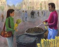 Chestnuts Vendor