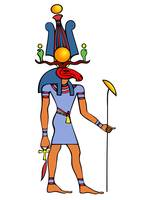 Egyptian God - Khensu