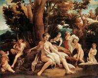 Leda and Swan by Correggio