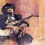 """Jazz John Lee Hooker"" by shevchukart"