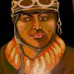 """Portrait of a Female Pilot"" by CASB"