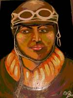 Portrait of a Female Pilot
