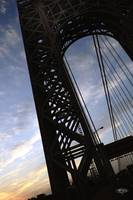 GW Bridge (Silhouetted)