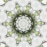 """Green Rosette Motif No. 120"" by HeidiVaught"