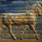 """Aurochs from the Ishtar Gate"" by gmhharden"