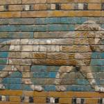 """Lion from the Processional Way to the Ishtar Gate"" by gmhharden"