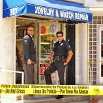 """LAPD at Jewelry Store, Los Angeles 2005"" by unstill"