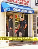 LAPD at Jewelry Store, Los Angeles 2005