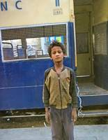 Boy Lives in Railway Station