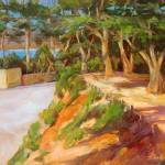 """Carmel Walkway to the Beach"" by BarbaraRedingStudios"