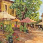 """Provence Village"" by BarbaraRedingStudios"